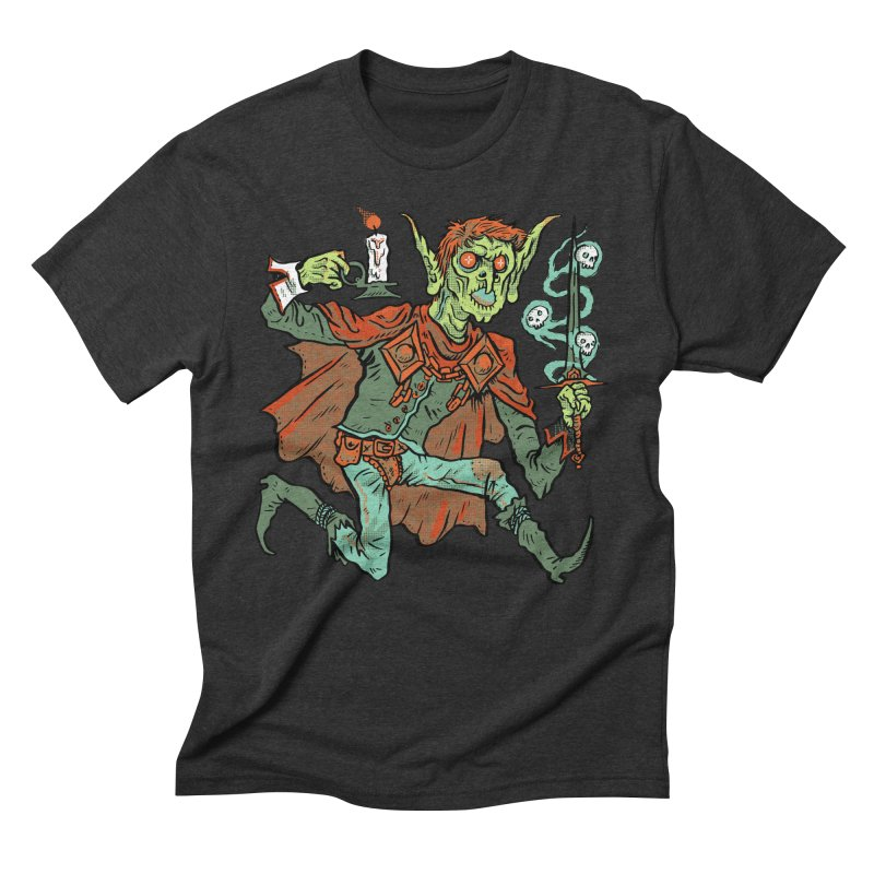 Gluborg Duke of Shadows Men's Triblend T-Shirt by Things You Might Find In A Dungeon