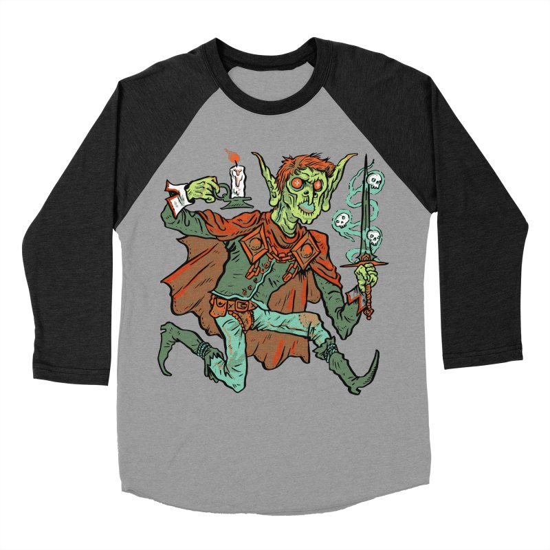 Gluborg Duke of Shadows Women's Baseball Triblend Longsleeve T-Shirt by Things You Might Find In A Dungeon