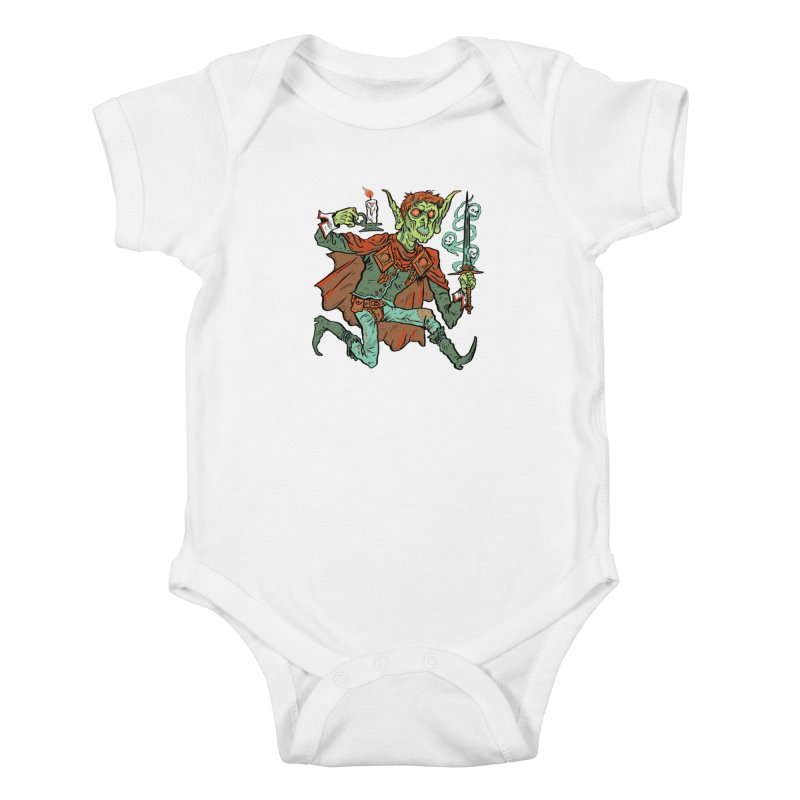 Gluborg Duke of Shadows Kids Baby Bodysuit by Things You Might Find In A Dungeon