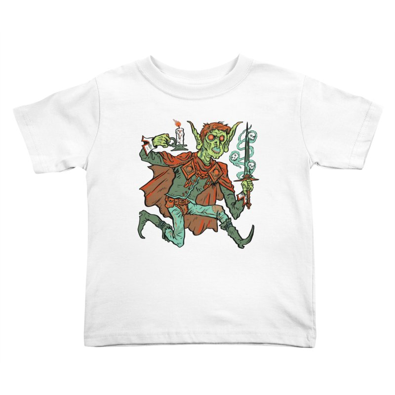 Gluborg Duke of Shadows Kids Toddler T-Shirt by Things You Might Find In A Dungeon