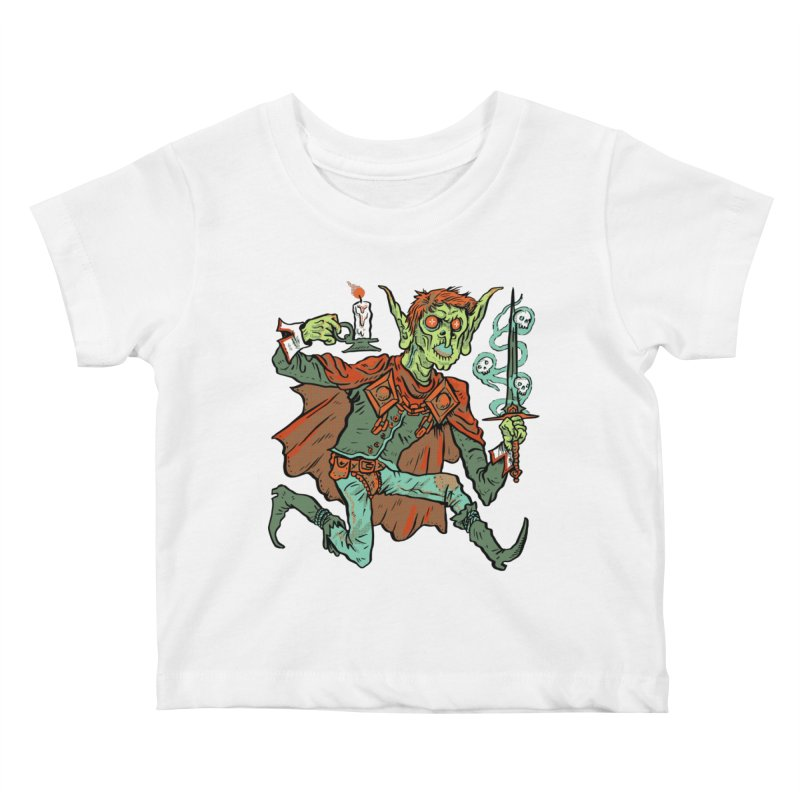 Gluborg Duke of Shadows Kids Baby T-Shirt by Things You Might Find In A Dungeon