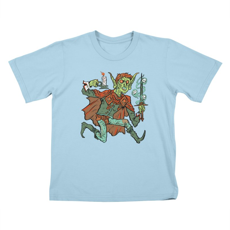 Gluborg Duke of Shadows Kids T-Shirt by Things You Might Find In A Dungeon