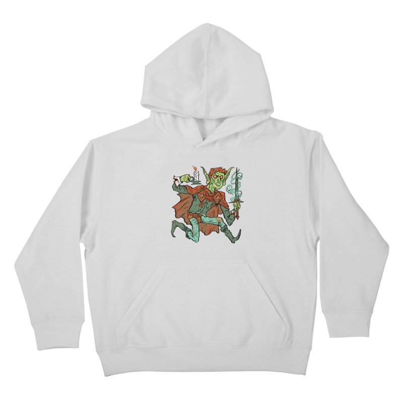 Gluborg Duke of Shadows Kids Pullover Hoody by Things You Might Find In A Dungeon