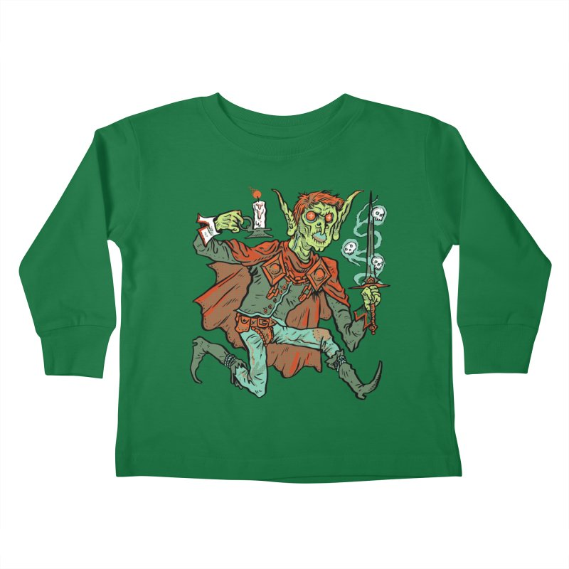 Gluborg Duke of Shadows Kids Toddler Longsleeve T-Shirt by Things You Might Find In A Dungeon