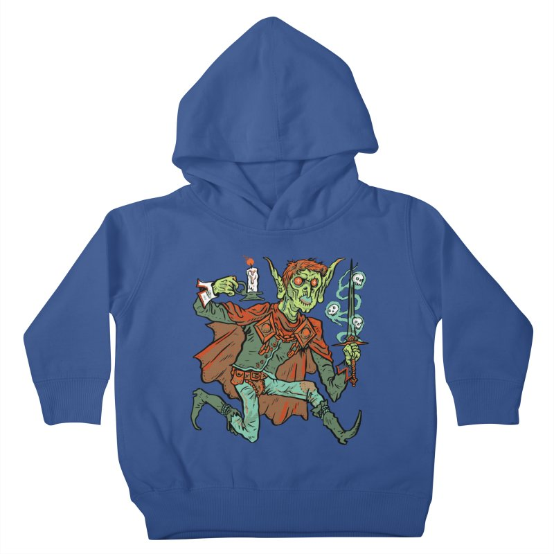 Gluborg Duke of Shadows Kids Toddler Pullover Hoody by Things You Might Find In A Dungeon