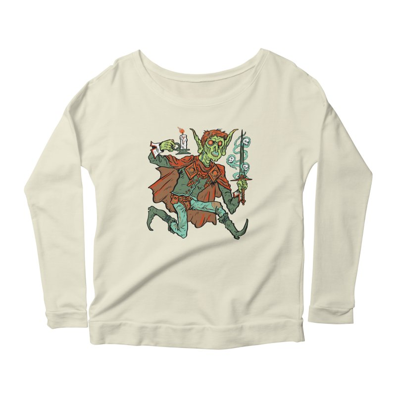 Gluborg Duke of Shadows Women's Scoop Neck Longsleeve T-Shirt by Things You Might Find In A Dungeon