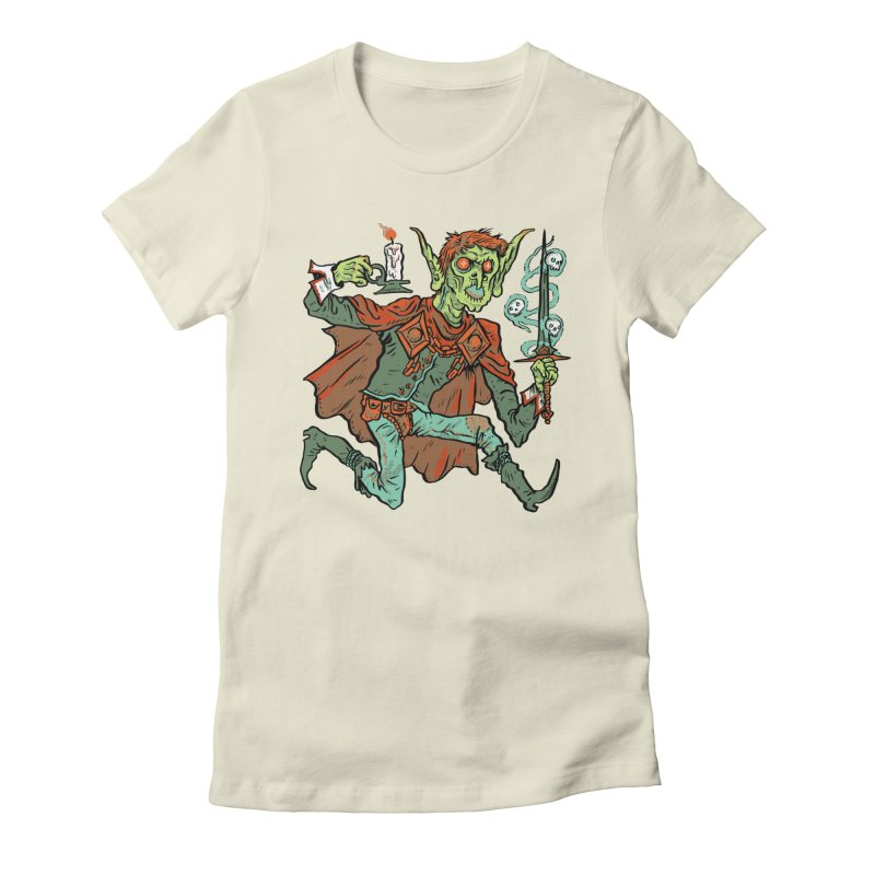 Gluborg Duke of Shadows Women's Fitted T-Shirt by Things You Might Find In A Dungeon