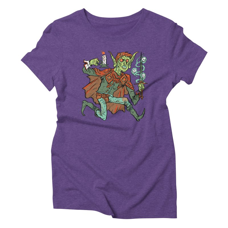 Gluborg Duke of Shadows Women's Triblend T-Shirt by Things You Might Find In A Dungeon