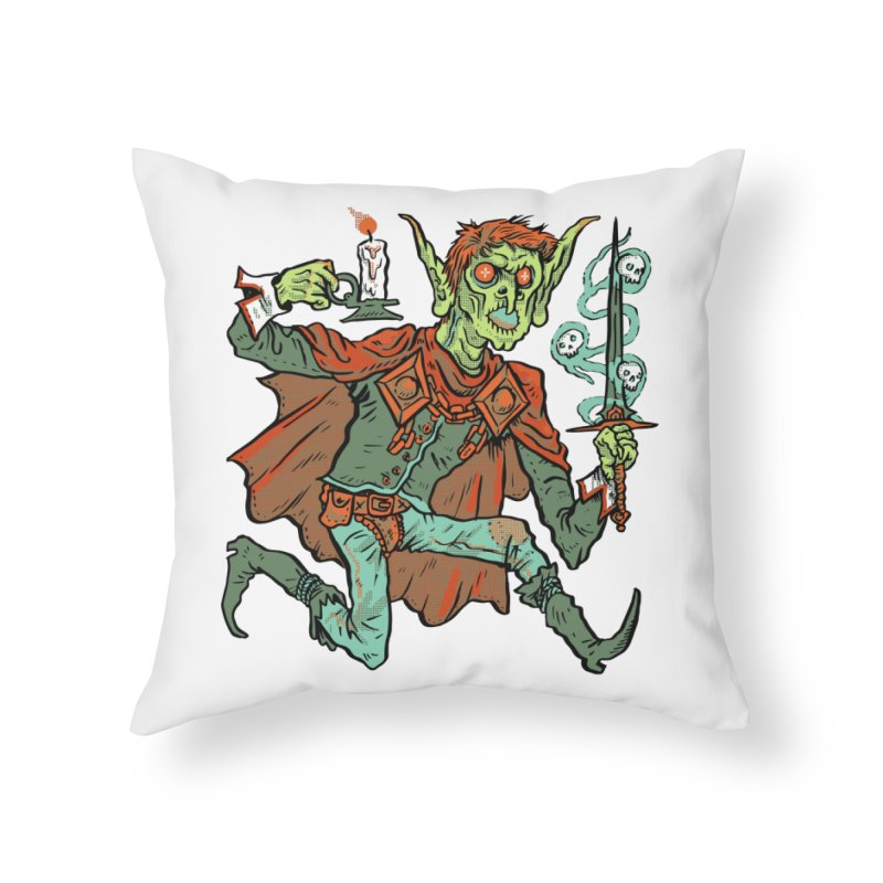 Gluborg Duke of Shadows Home Throw Pillow by Things You Might Find In A Dungeon