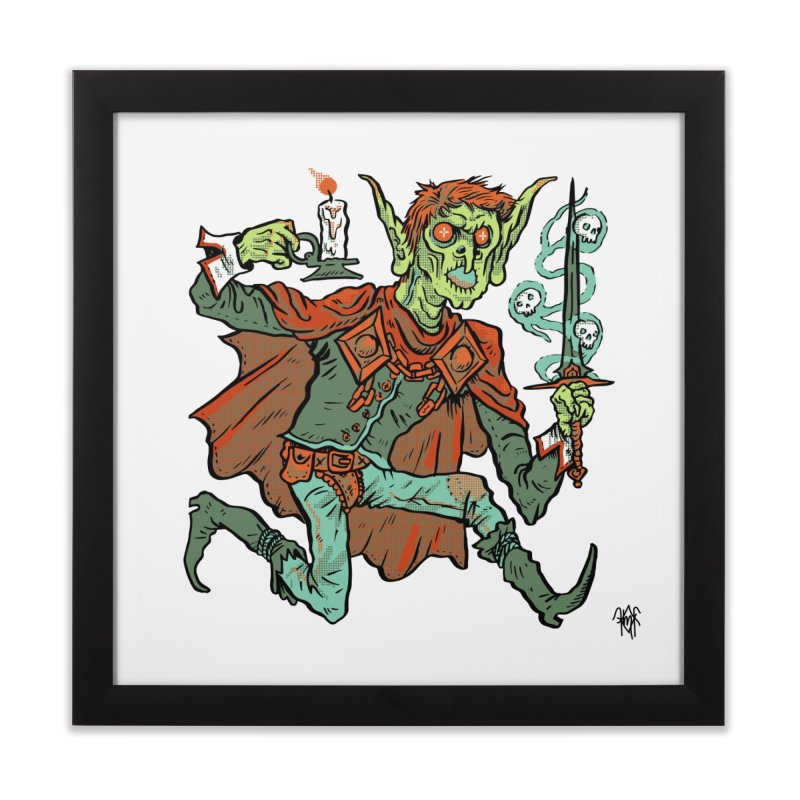 Gluborg Duke of Shadows Home Framed Fine Art Print by Things You Might Find In A Dungeon