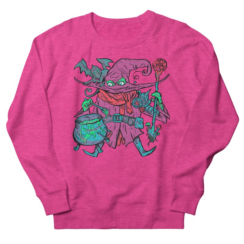 Gaynor the Magician Men's French Terry Sweatshirt by Things You Might Find In A Dungeon