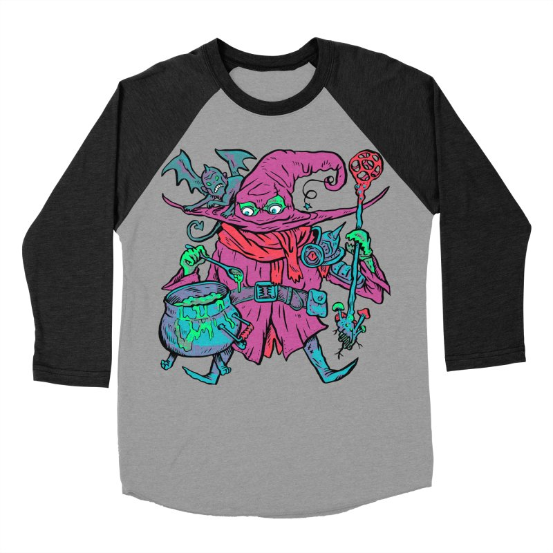 Gaynor the Magician Men's Baseball Triblend Longsleeve T-Shirt by Things You Might Find In A Dungeon