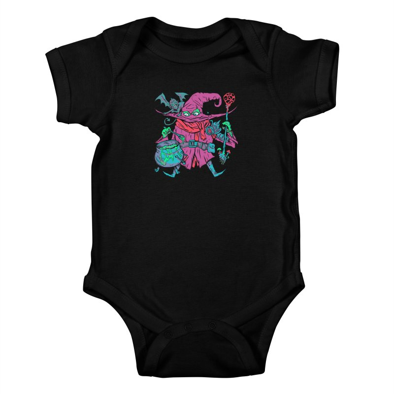 Gaynor the Magician Kids Baby Bodysuit by Things You Might Find In A Dungeon
