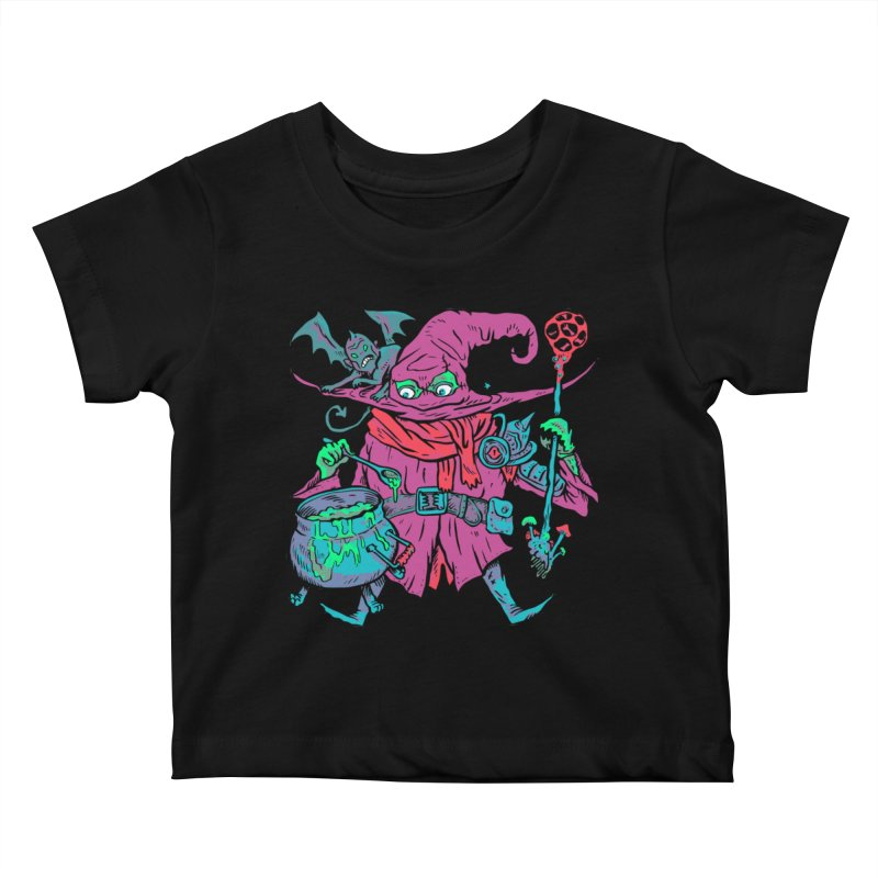 Gaynor the Magician Kids Baby T-Shirt by Things You Might Find In A Dungeon