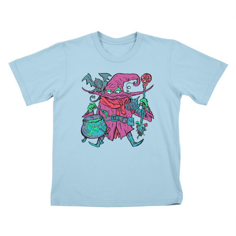 Gaynor the Magician Kids T-Shirt by Things You Might Find In A Dungeon