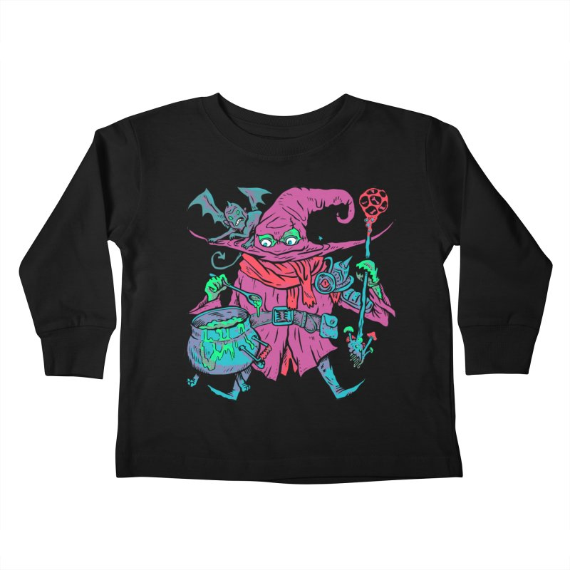 Gaynor the Magician Kids Toddler Longsleeve T-Shirt by Things You Might Find In A Dungeon