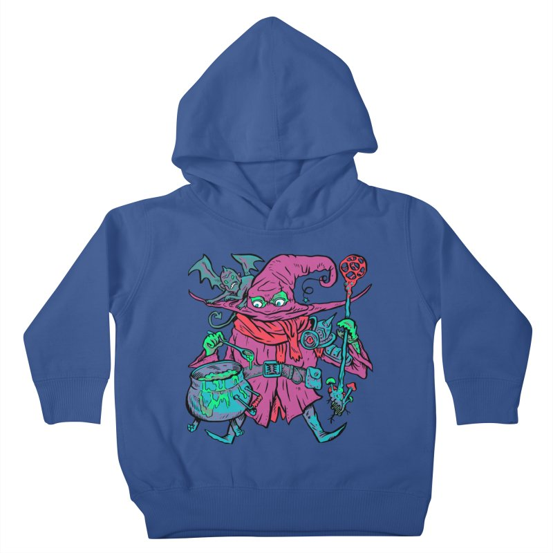 Gaynor the Magician Kids Toddler Pullover Hoody by Things You Might Find In A Dungeon