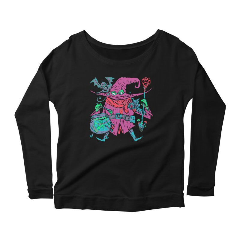 Gaynor the Magician Women's Scoop Neck Longsleeve T-Shirt by Things You Might Find In A Dungeon