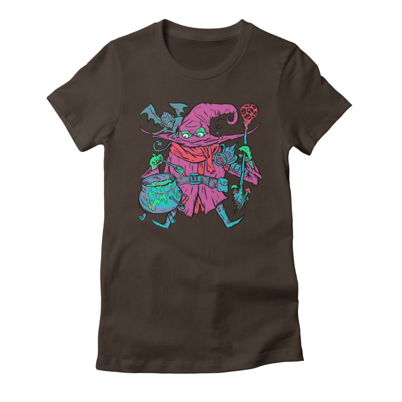 Gaynor the Magician Women's Fitted T-Shirt by Things You Might Find In A Dungeon