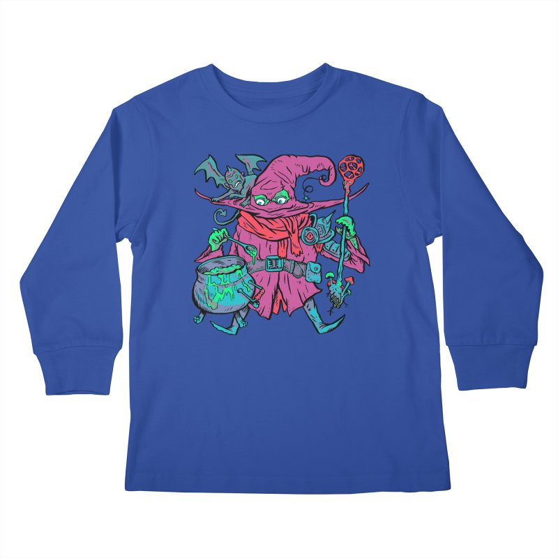 Gaynor the Magician Kids Longsleeve T-Shirt by Things You Might Find In A Dungeon