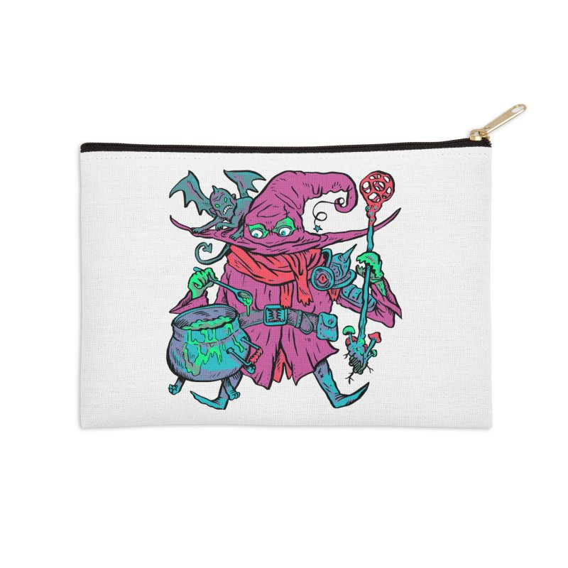 Gaynor the Magician Accessories Zip Pouch by Things You Might Find In A Dungeon