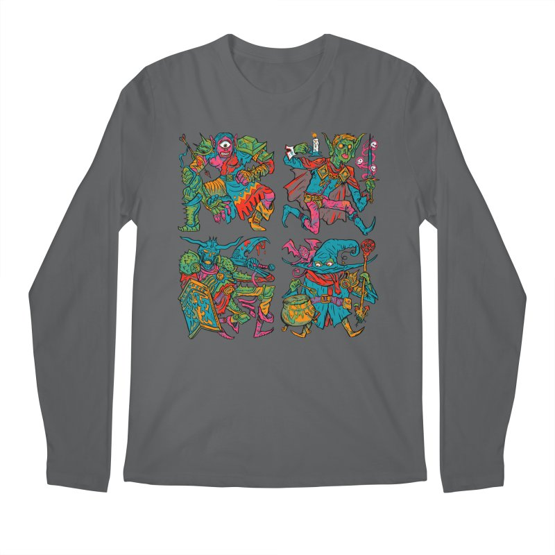 Adventuring Party Men's Regular Longsleeve T-Shirt by Things You Might Find In A Dungeon