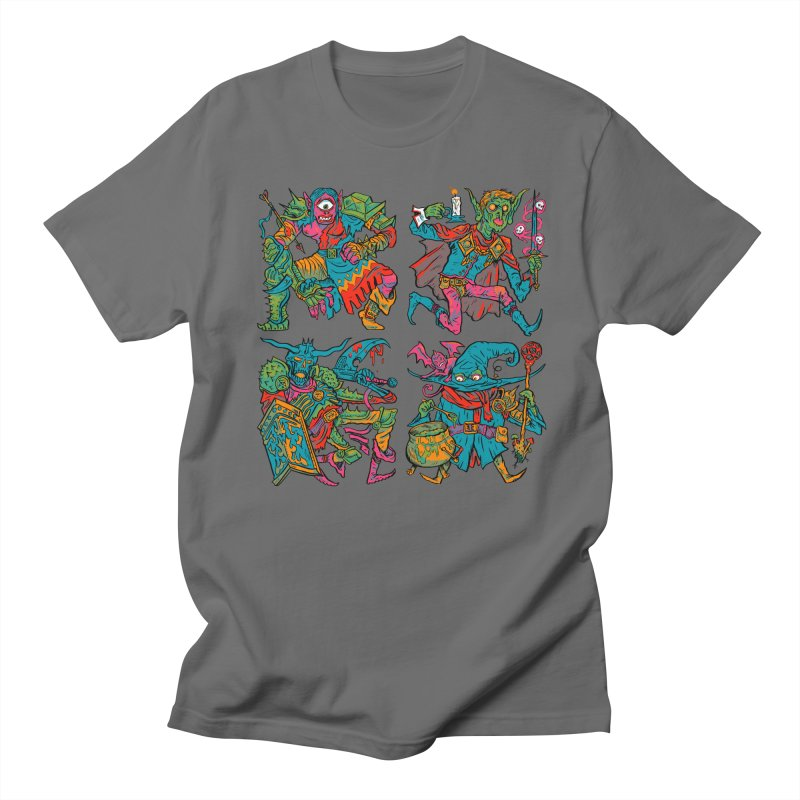 Adventuring Party Men's T-Shirt by Things You Might Find In A Dungeon