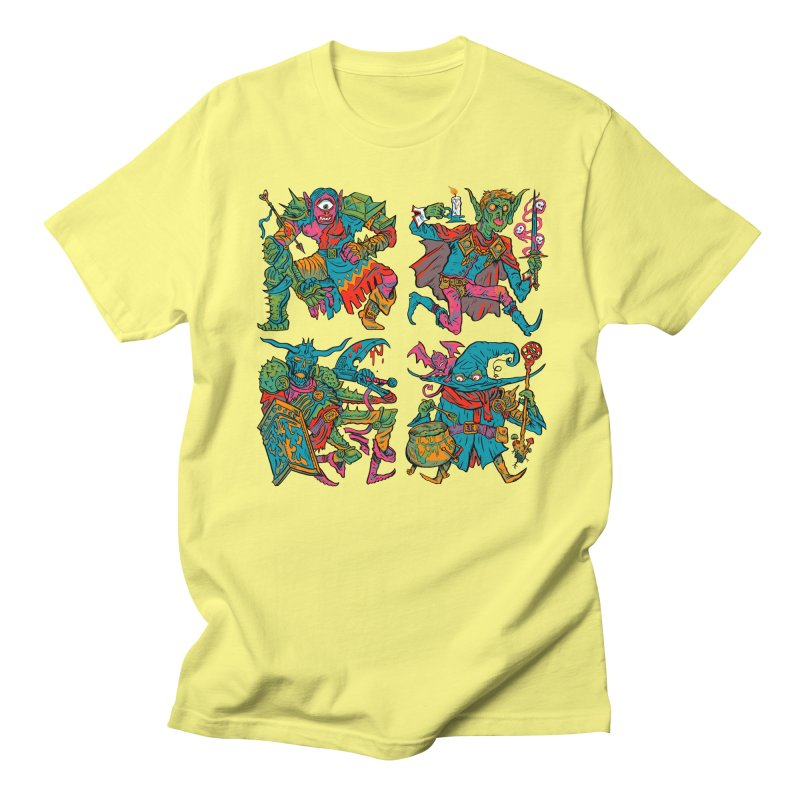 Adventuring Party Men's Regular T-Shirt by Things You Might Find In A Dungeon