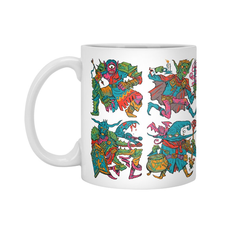 Adventuring Party Accessories Standard Mug by Things You Might Find In A Dungeon