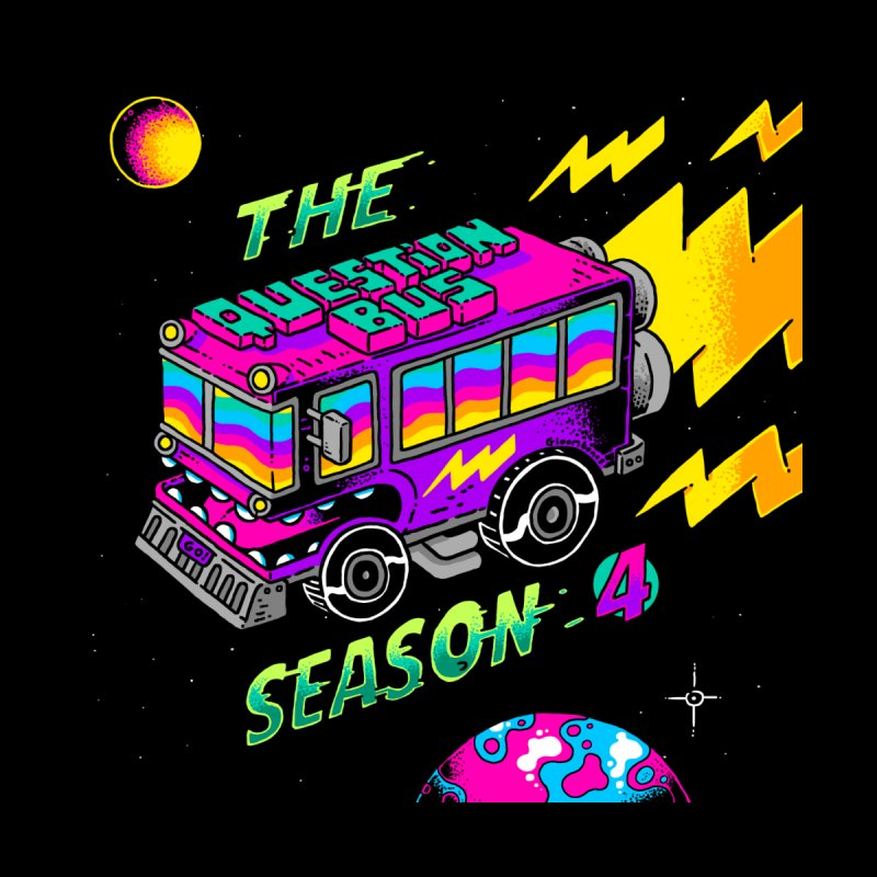 The Question Bus: Season 4 Logo Men's Longsleeve T-Shirt by Keir Miron's Artist Shop