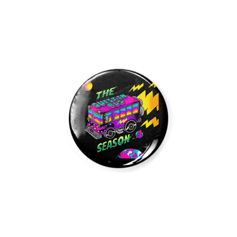 The Question Bus: Season 4 Logo Accessories Button by Keir Miron's Artist Shop