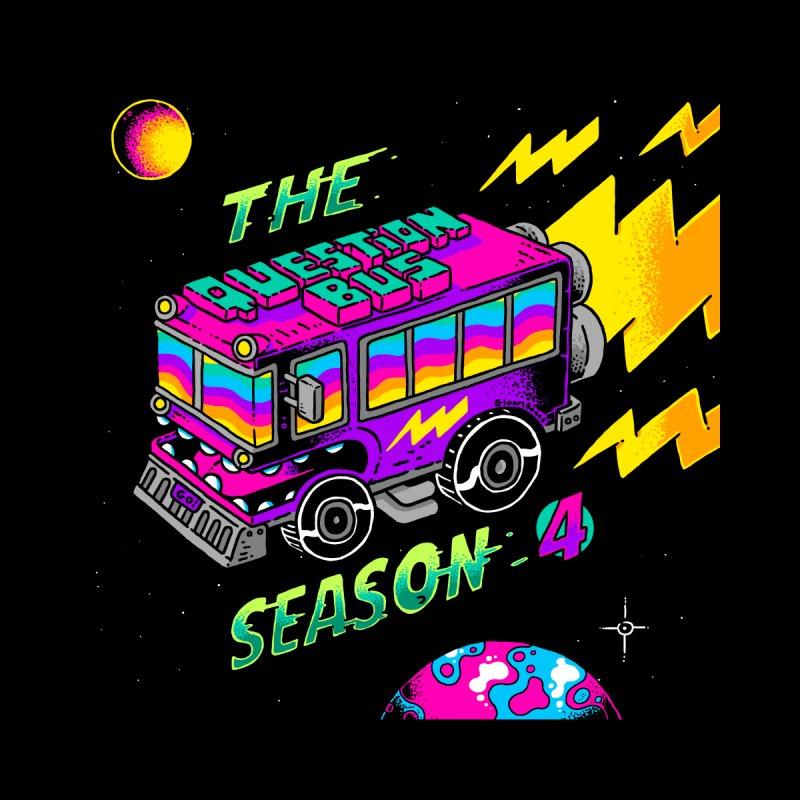 The Question Bus: Season 4 Logo Home Framed Fine Art Print by Keir Miron's Artist Shop