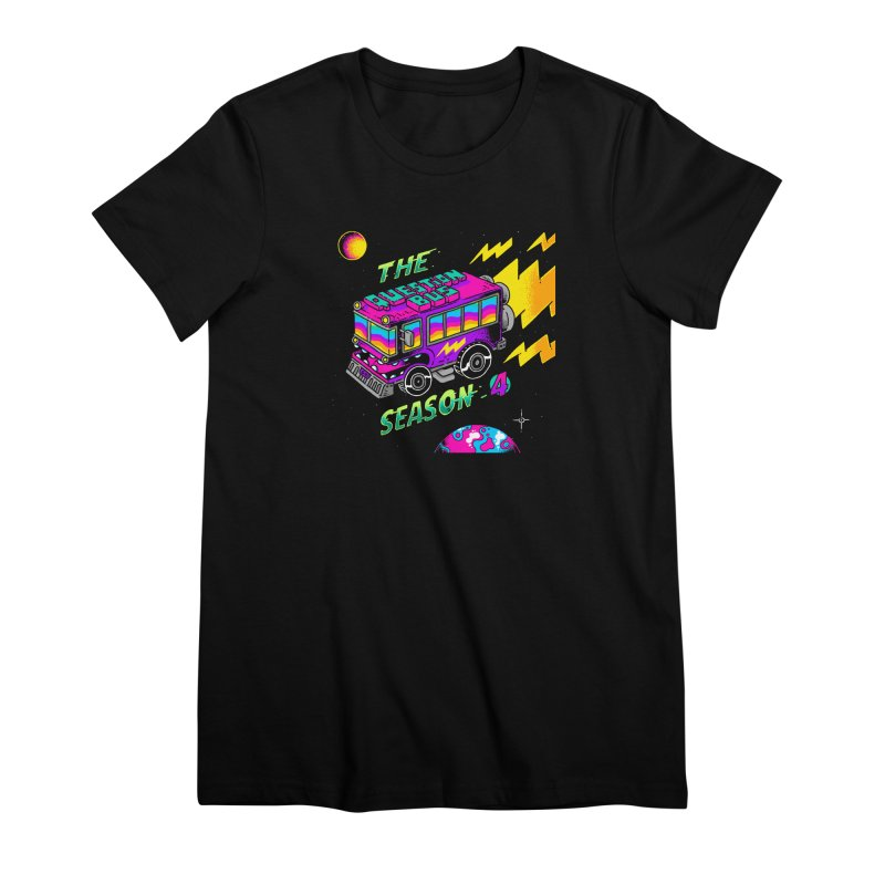 The Question Bus: Season 4 Logo Women's Premium T-Shirt by Keir Miron's Artist Shop