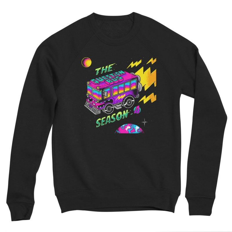 The Question Bus: Season 4 Logo Men's Sponge Fleece Sweatshirt by Keir Miron's Artist Shop