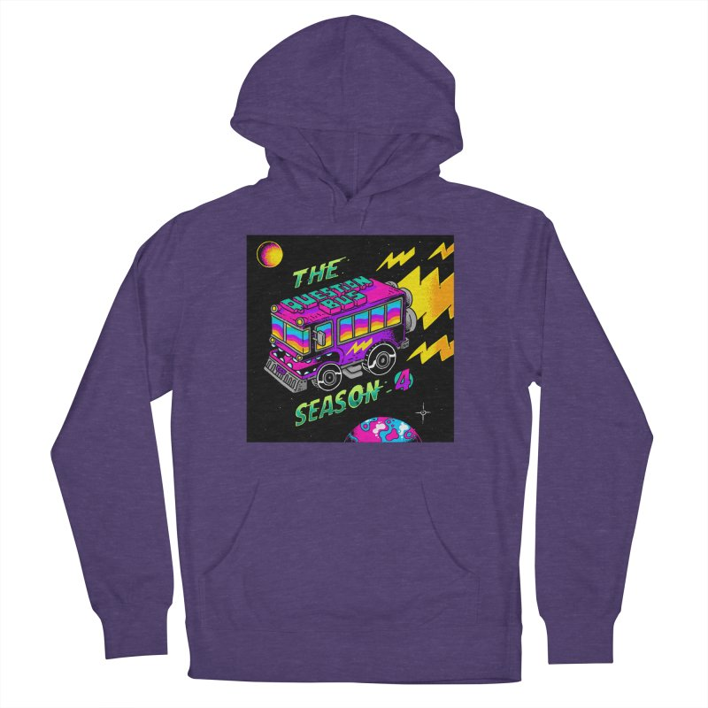 The Question Bus: Season 4 Logo Men's French Terry Pullover Hoody by Keir Miron's Artist Shop