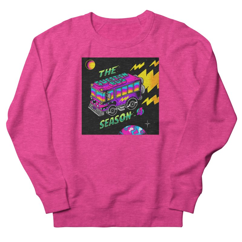 The Question Bus: Season 4 Logo Women's French Terry Sweatshirt by Keir Miron's Artist Shop
