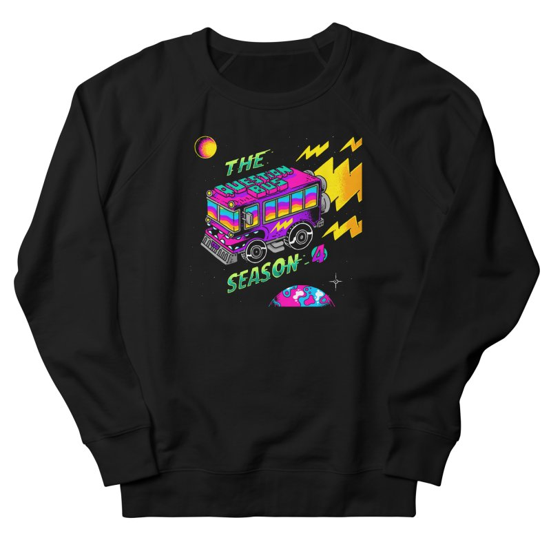 The Question Bus: Season 4 Logo Women's French Terry Sweatshirt by Keir Miron's Artist Shop