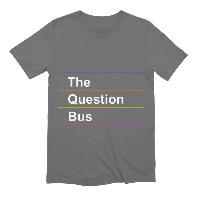 The Question Bus: Logo Men's Extra Soft T-Shirt by Keir Miron's Artist Shop