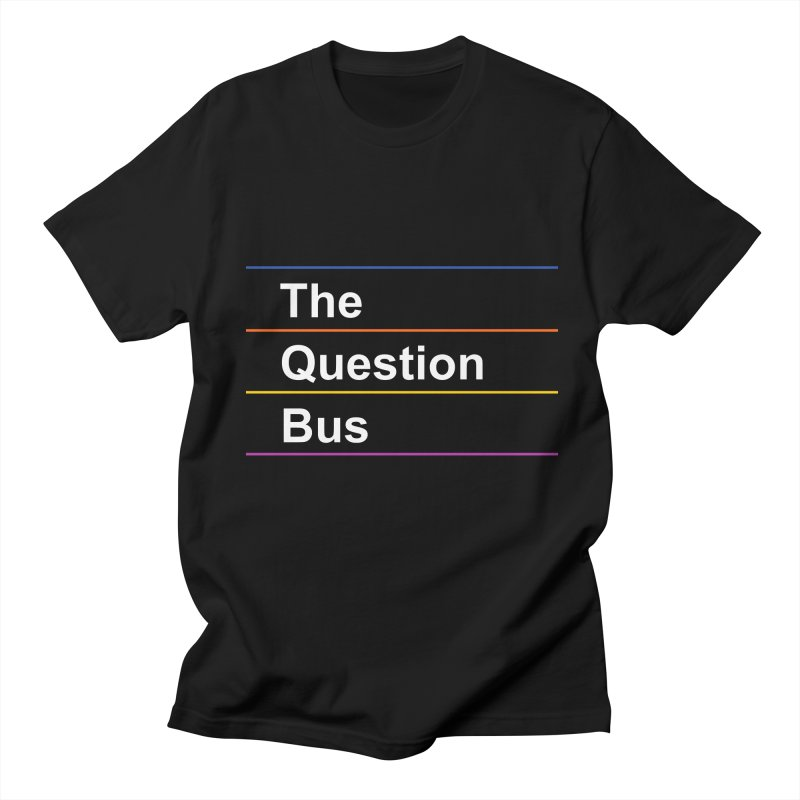 The Question Bus: Logo Men's T-Shirt by Keir Miron's Artist Shop