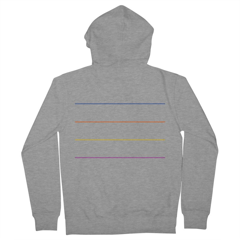 The Question Bus: No Text Logo Women's French Terry Zip-Up Hoody by Keir Miron's Artist Shop