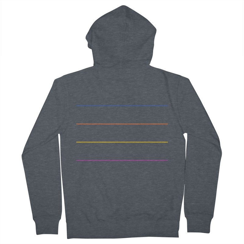 The Question Bus: No Text Logo Men's Zip-Up Hoody by Keir Miron's Artist Shop