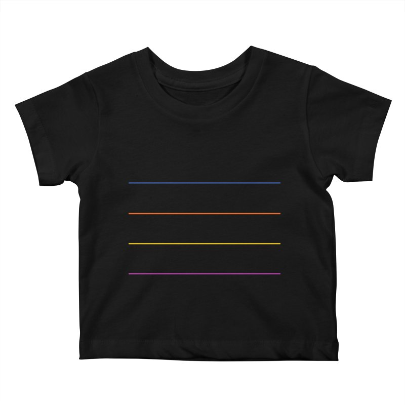 The Question Bus: No Text Logo Kids Baby T-Shirt by Keir Miron's Artist Shop