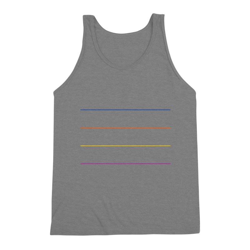 The Question Bus: No Text Logo Men's Triblend Tank by Keir Miron's Artist Shop