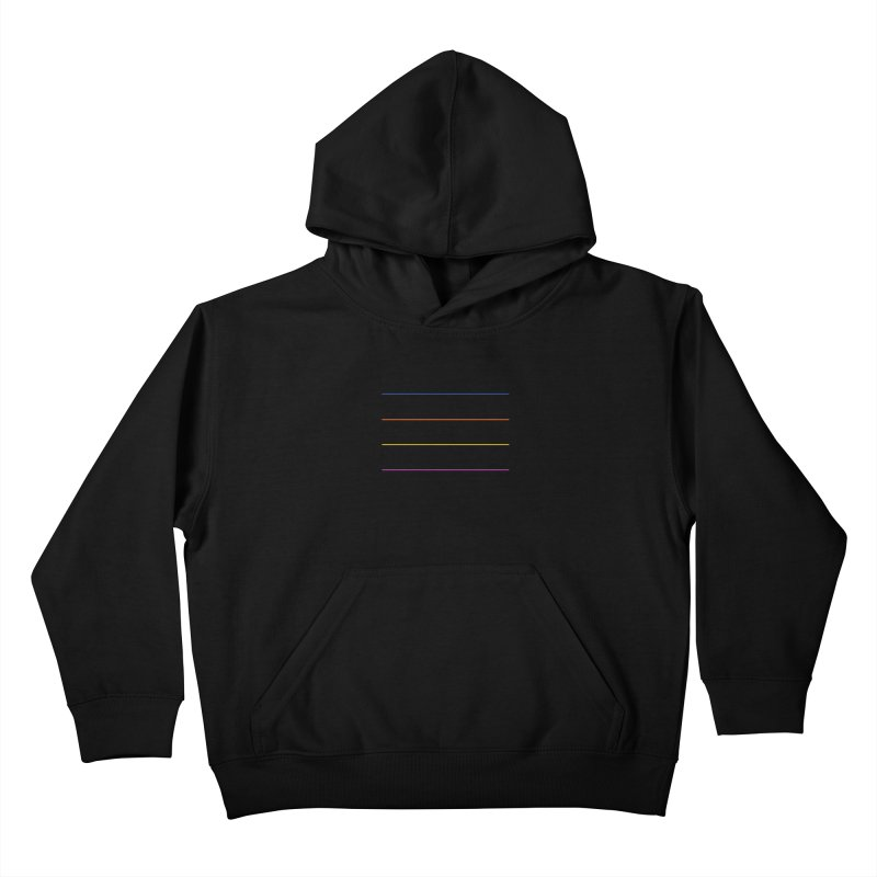 The Question Bus: No Text Logo Kids Pullover Hoody by Keir Miron's Artist Shop