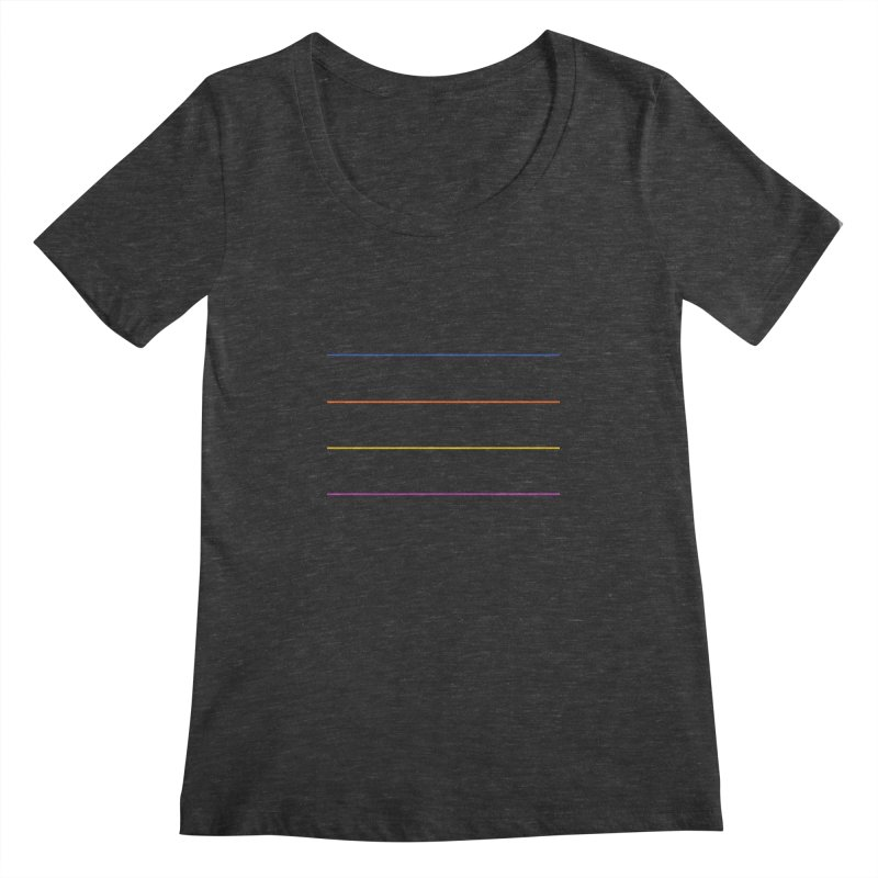 The Question Bus: No Text Logo Women's Scoopneck by Keir Miron's Artist Shop