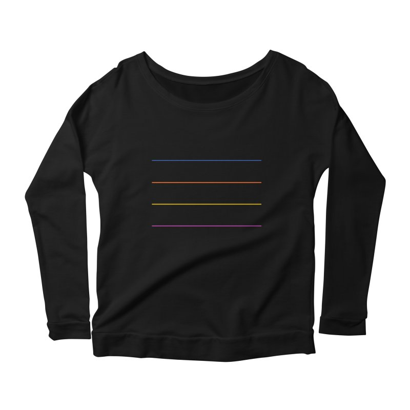 The Question Bus: No Text Logo Women's Longsleeve Scoopneck  by Keir Miron's Artist Shop