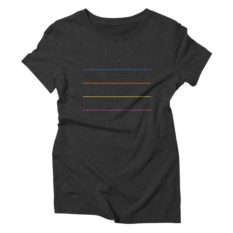 The Question Bus: No Text Logo Women's Triblend T-shirt by Keir Miron's Artist Shop