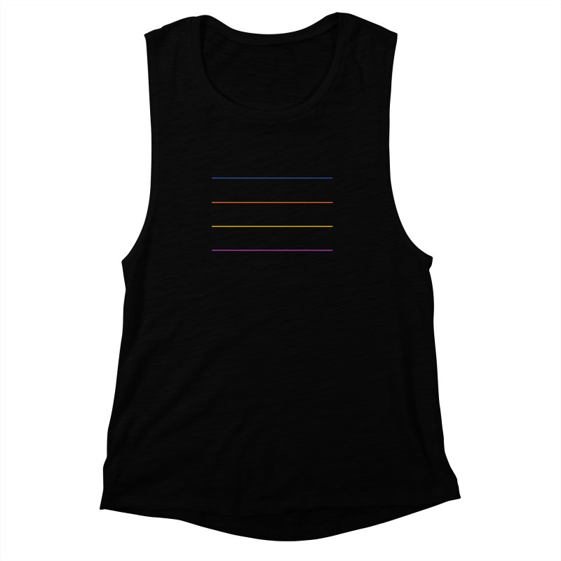 The Question Bus: No Text Logo Women's Muscle Tank by Keir Miron's Artist Shop