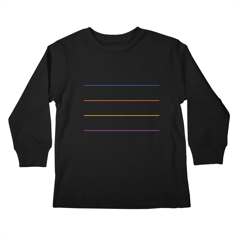 The Question Bus: No Text Logo Kids Longsleeve T-Shirt by Keir Miron's Artist Shop