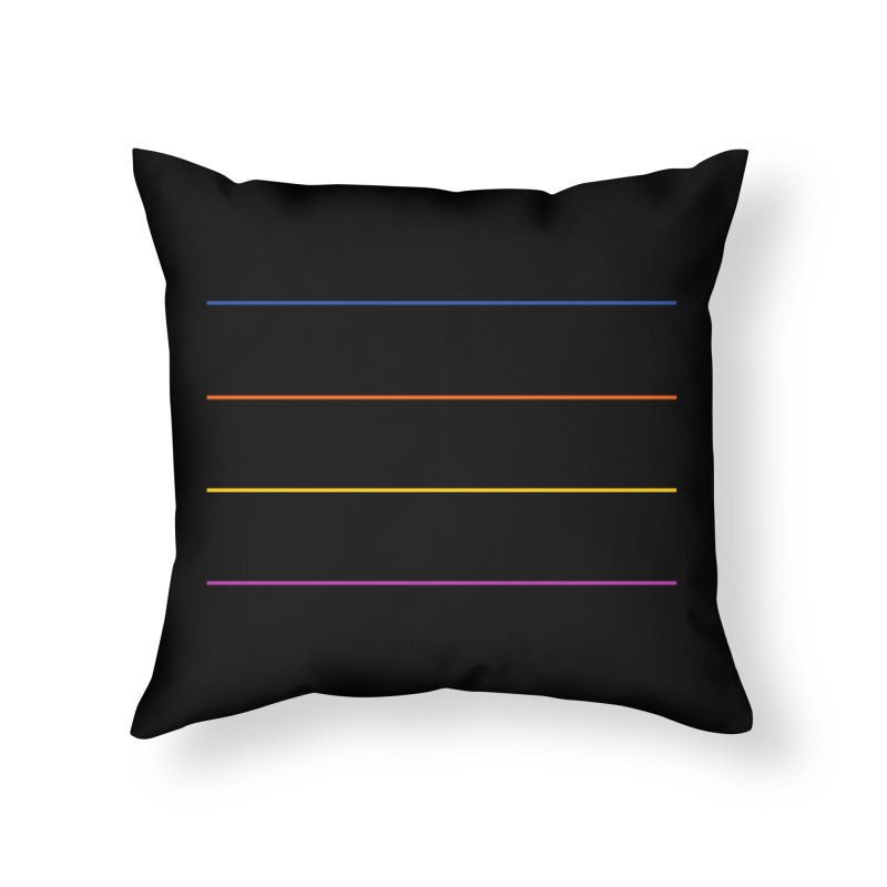 The Question Bus: No Text Logo Home Throw Pillow by Keir Miron's Artist Shop